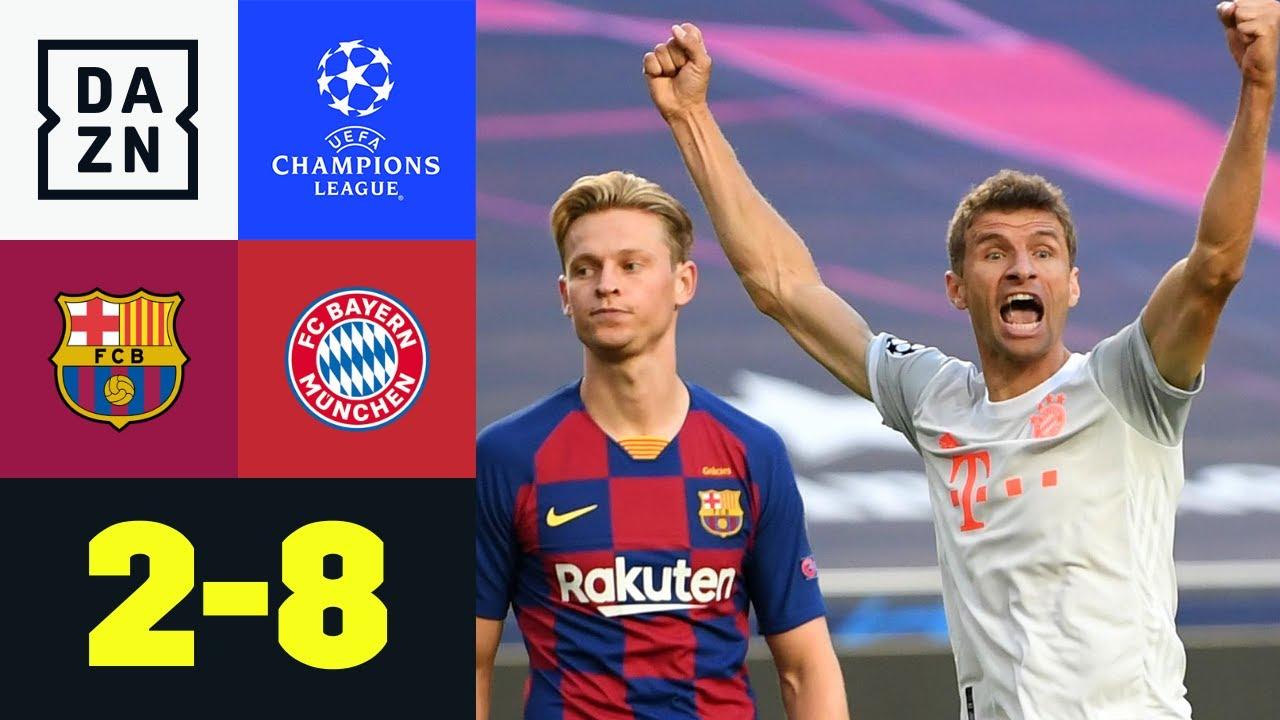 Download Bayern-Tornado fegt über Barca hinweg: FC Barcelona - FC Bayern 2:8 | UEFA Champions League | DAZN