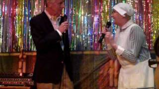 Su Pollard and Michael Knowles - Hi de Hi reunion Cliff Hotel
