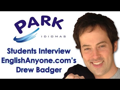 Park Idiomas Students Interview EnglishAnyone.com's Drew Badger About Learning English