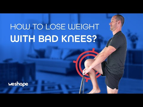 Low impact Bad Knees Workout for Burning Fat (chair exercises!)