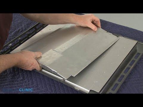 Bottom Oven Panel Baffle  - Whirlpool Gas Range (Model #WFG745H0FS1)