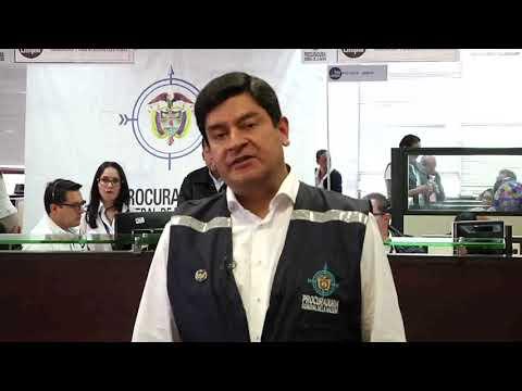 Palabras del Viceprocurador Cortés sobre puesto de control electoral de la PGN