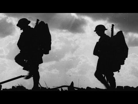 'Hanging On The Old Barb Wire' ~ sung by Frank McConnell ~ World War One Song