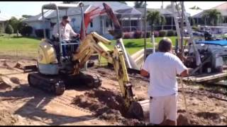 Footing and Docking of the Model Home Turnberry 2 (Sandstar/Arthur Rutenberg LLC)