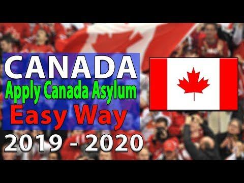 Apply Canada Asylum   Easy Way 2019 - 2020