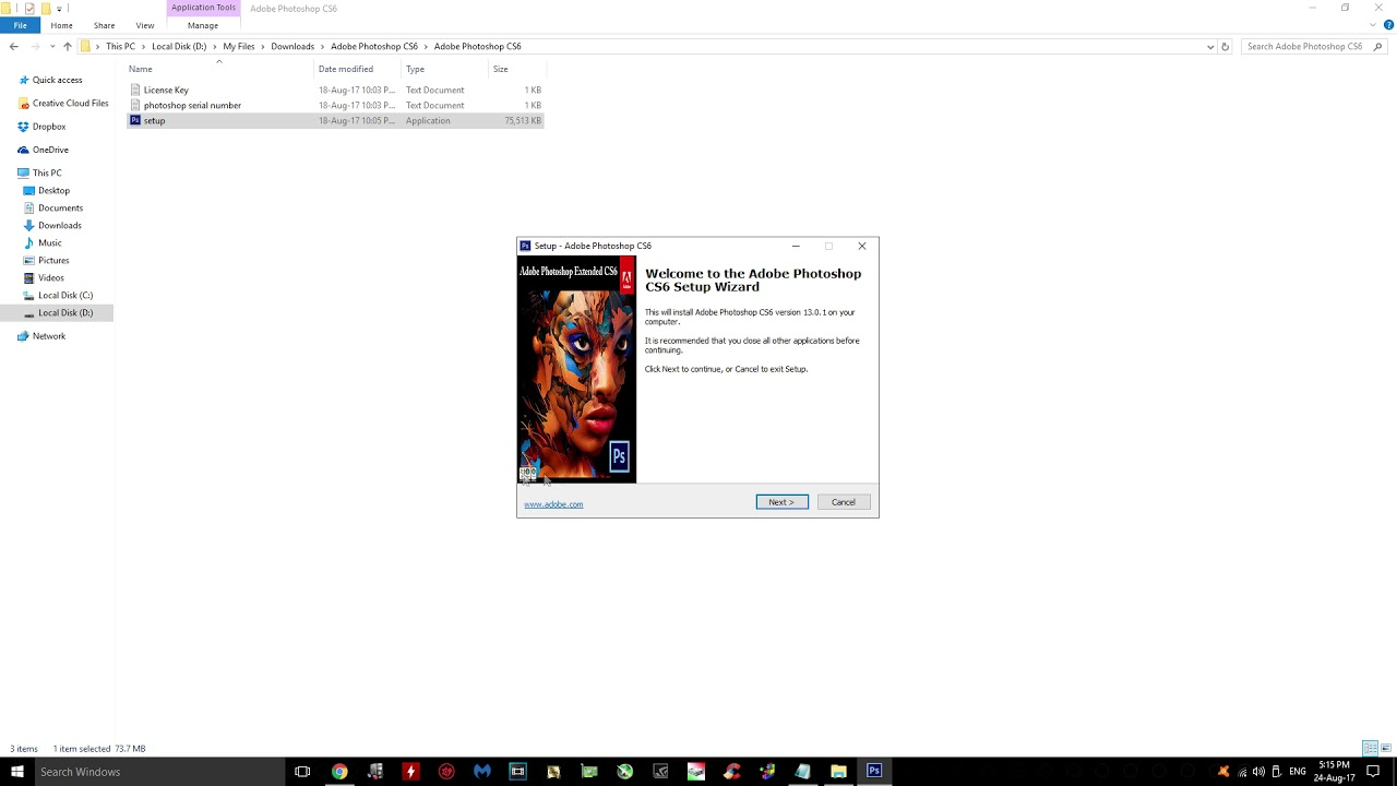 Adobe Photoshop CS6 Easy and Free installation 2017  Updated Link
