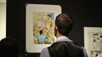 Tom of Finland exhibition opening - Muu Galleria (Helsinki) 28 8 2014