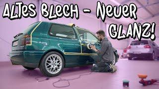 Altes Blech - neuer Glanz! Der Golf 3 VR6 Turbo wird von Kai Mensing aufbereitet! | Philipp Kaess |