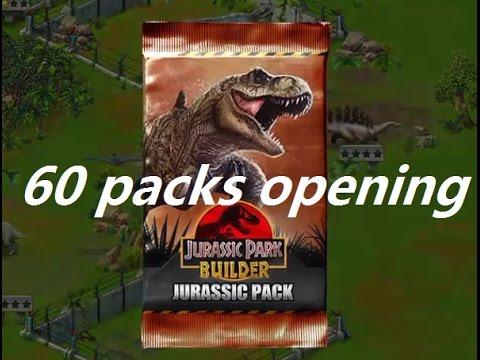 Jurassic Park Builder CARD PACKS OPENING