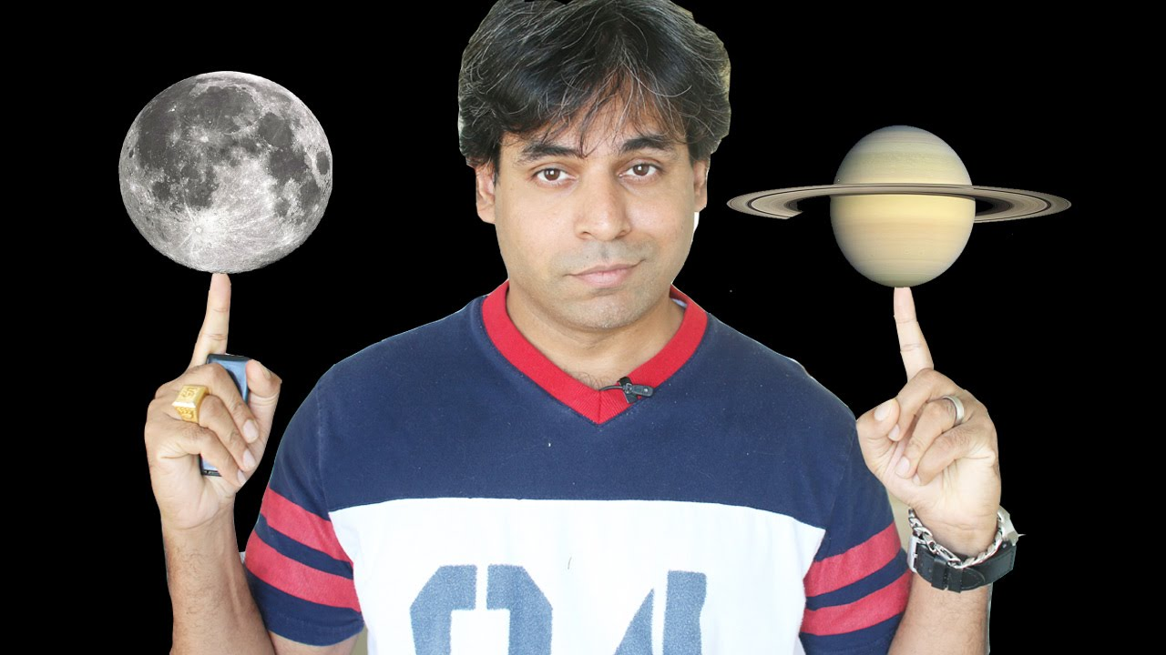 Saturn and Moon conjunction in Astrology
