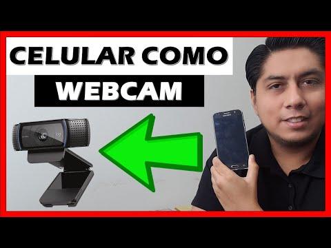 Cómo Usar CELULAR Como CÁMARA WEB (WebCam) Y MICRÓFONO 📱 📸 🎙