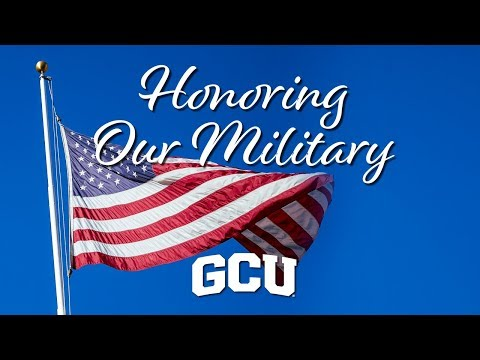 Serving the Military Community   Grand Canyon University