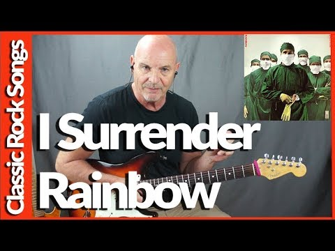 I Surrender By Rainbow - Guitar Lesson Tutorial