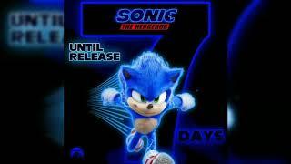 Download Sonic The Hedgehog Movie Art - 7 Days Until Release (Next Week Friday)