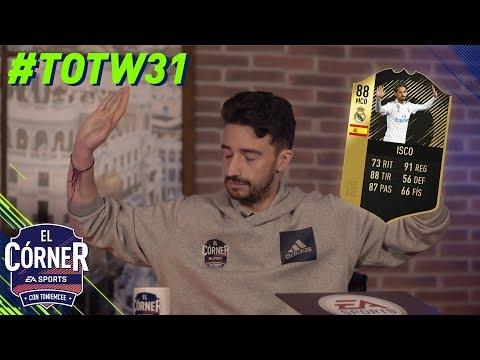 TOTW31 | ISCO PTG, COUTINHO OTW, DOUGLAS COSTA OTW, RICARDO PEREIRA…. | FIFA18 | El Córne