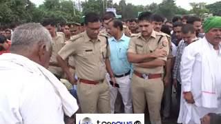 NAWADA VILLAGERS PROTESTED AT PARICHOWK IN GR NOIDA OVER DROWNING OF 3 PERSONS IN GANGA CANAL