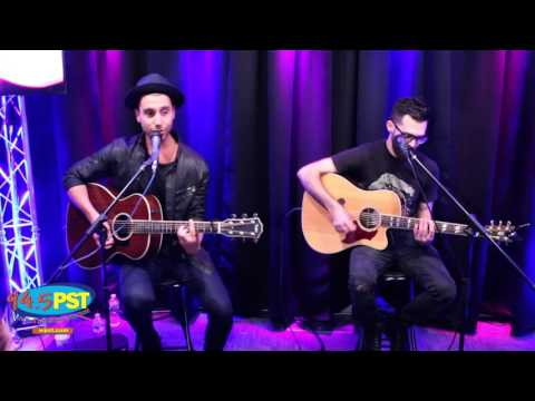 Nick Fradiani in the PST Live Lounge
