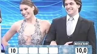 """""""Dança dos Famosos 4"""" Átila Amaral e Elaine Mickely- Foxtrot"""