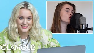 Download Zara Larsson Watches Fan Covers on YouTube   Glamour Mp3 and Videos