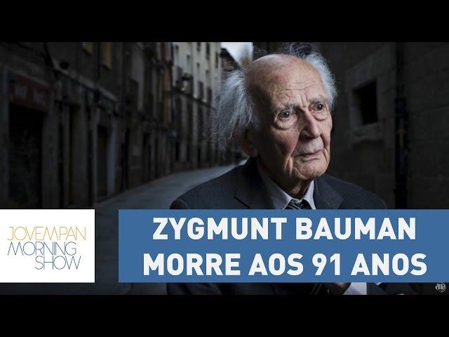 Filósofo de ideias atuais, Zygmunt Bauman morre aos 91 anos | Morning Show