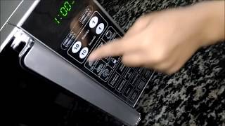 Ifb microwave -how to use in english
