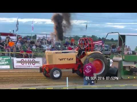 ALTERED FARM  TRACTORS LYNN, INDIANA LYONS CLUB PULL DCTPA SEPT 9, 2016