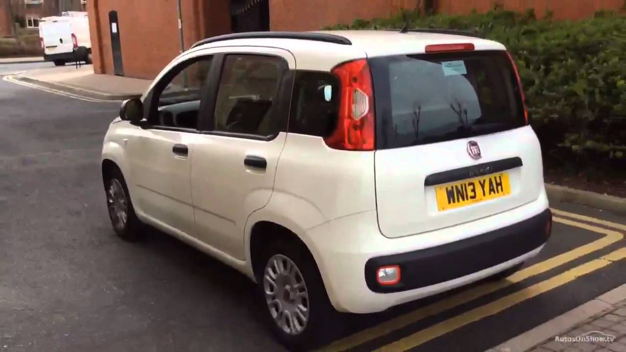 fiat panda easy white 2013 youtube. Black Bedroom Furniture Sets. Home Design Ideas