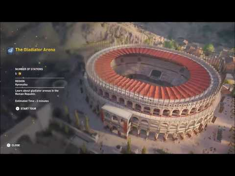 ACO Discovery Tour by Assassin's Creed: Ancient Egypt - The Gladiator Arena