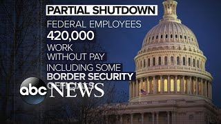 Partial government shutdown likely to continue until after Christmas