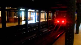 Metro Budapest - Station Bajza utca M1