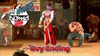 Street Fighter Alpha 2 - Guy Ending - SNES