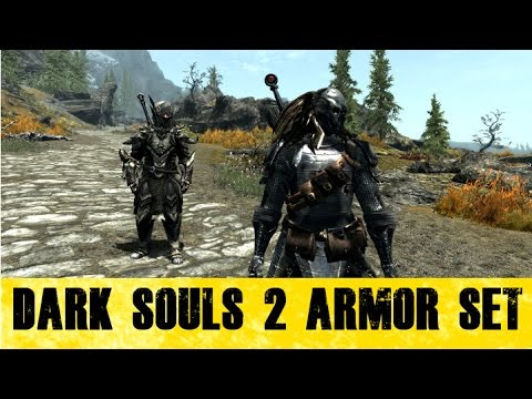 Skyrim Mods - Dark Souls 2 Armor Pack - Finding The First 4 Sets!