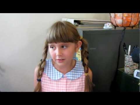 Megan Schauer 9 singing Lonely goat herd