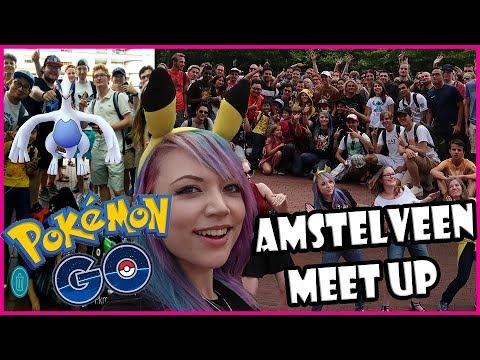 LUGIA RAID @ AMSTELVEEN POKEMON GO MEET UP w/ TRAINER TIPS & REVERSAL! EuroTrip: Amstelveen!