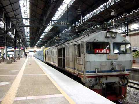 [KTM] 24119 with 82 Class EMU Hybrid Train departing KLO