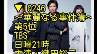 IQ246〜華麗なる事件簿〜 TBS、日曜21時、主演・織田裕二 公式サイト:h...