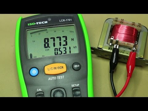 ISO-Tech LCR-1701 LCR Meter Teardown, review and testing (#009)