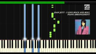 joan jett i love rock and roll synthesia piano arrangement