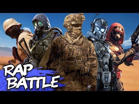 The FPS Rap Battle  Call Of Duty vs Battlefield  NerdOut