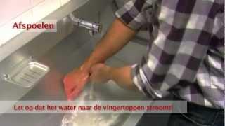 Hygiënisch handen wassen