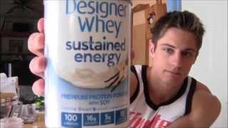 Designer Whey Sustained Energy Taste Test with Bentbarbell's Ryan Nelson