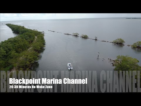 Blackpoint Marina Channel - Ended In DRONE FAIL