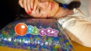 Orbeez Pillow DIY | Orbeez + plastic bag and duct tape