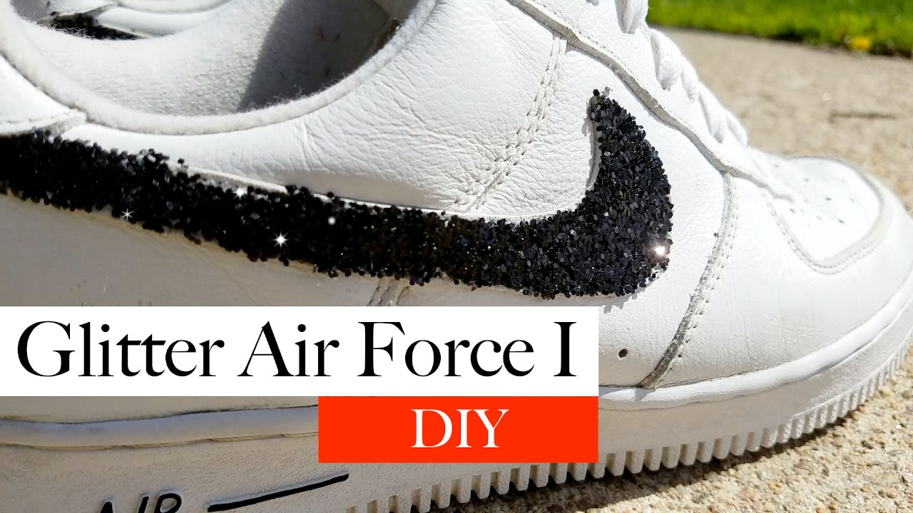 Custom Air Force 1 Tutorial  Easy DIY  - YouTube 79a57100b