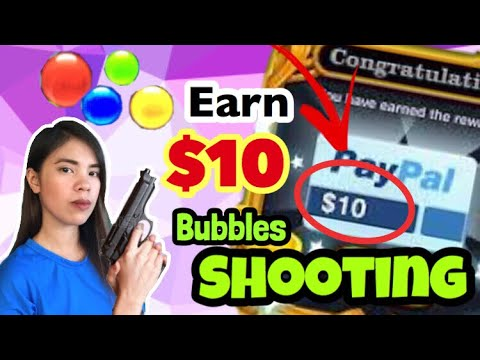 Kumita Ng $10 SHOOTING BUBBLES: EARN PLAYING GAMES | FREE PAYPAL CASH | MAKE MONEY APP