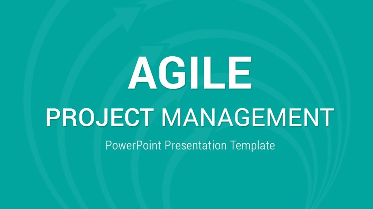 agile project management powerpoint presentation template youtube