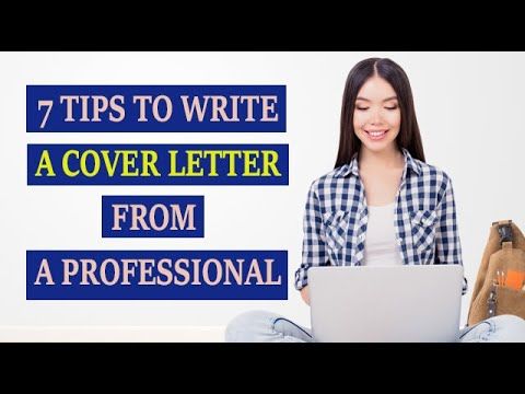 How To Write A Cover Letter ? |  (In 2019)