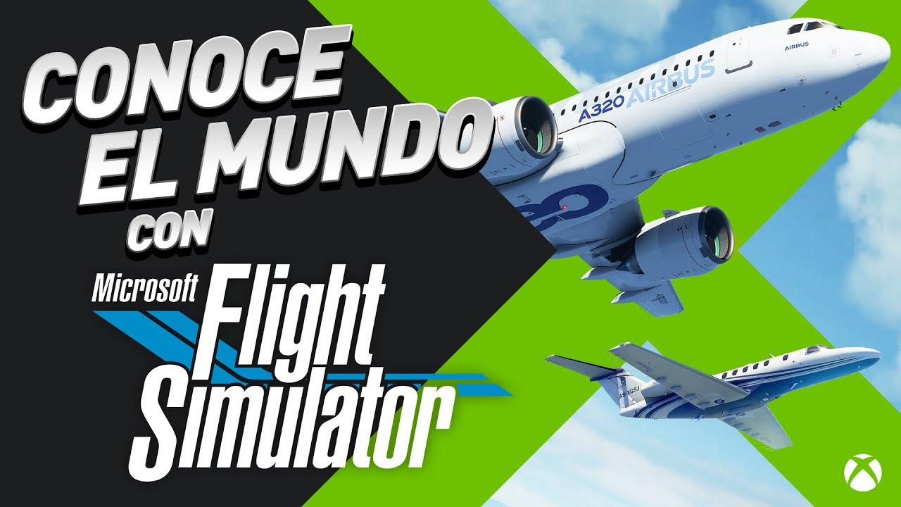 Microsoft Flight Simulator llega a Xbox Series X|S