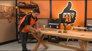 How to Build a Dining Table Mitre 10 Easy As