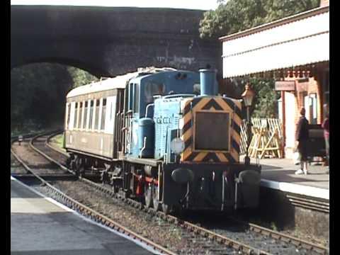 The Brighton Belle passes Weybourne, Norfolk
